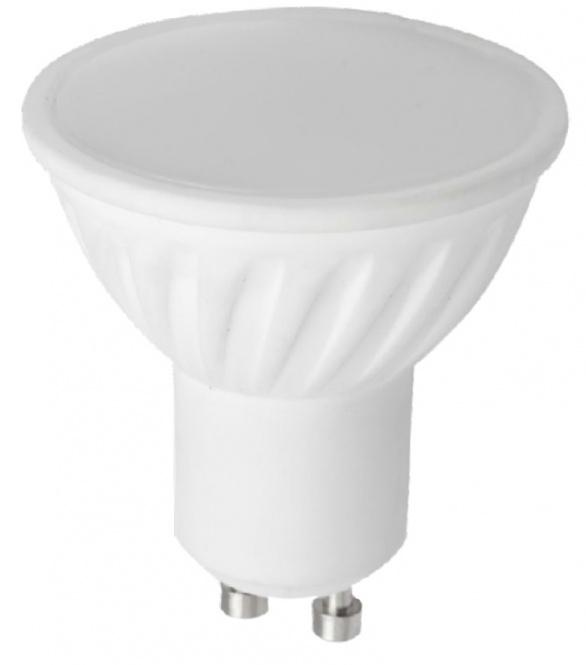 LED Lampe 8 Watt 580 Lumen GU10 ceramic kaltweiß einzeln ...