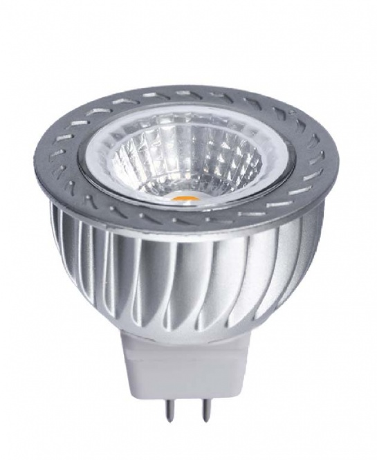 LED Lampe 12 V 6 Watt COB 420 Lumen MR16 kaltweiß | Leuchtmittel LED ...