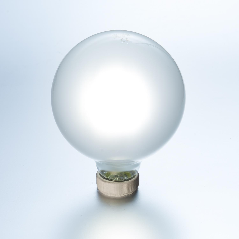 LED Globe Glühlampe Fadenlampe 3er Pack 8 W matt Ø 125 mm E27 870 ...