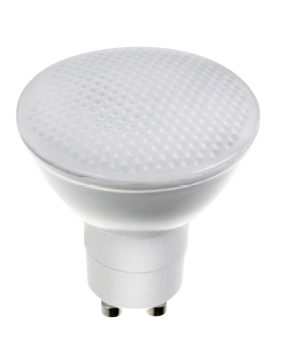 led lampe 6 watt 500 lumen gu10 15 smd kaltwei 1x led gu10 230. Black Bedroom Furniture Sets. Home Design Ideas