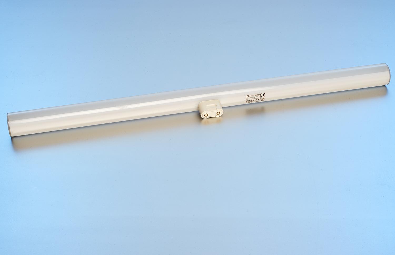 Led linienlampe 50 cm 8 watt 500 lumen s14d warmwei for Lampen 500 lux