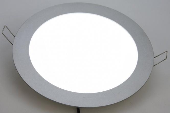 Extrem LED Panel rund Einbau DIMMBAR Ø 199 mm   Leuchten und Lampen WS07