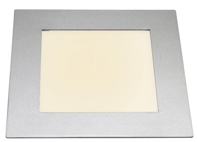 led panel eckig einbau 410 lumen ip44 warmwei leuchten und lampen innenleuchten. Black Bedroom Furniture Sets. Home Design Ideas