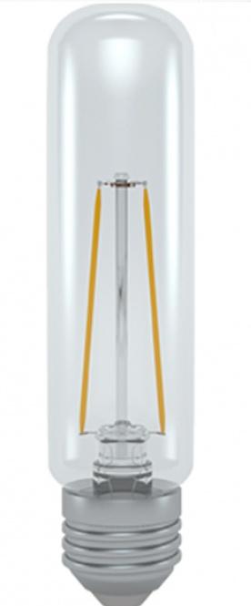 led gl hlampe fadenlampe r hre 6 w klar 30 mm e27 600 lumen warmwei filament. Black Bedroom Furniture Sets. Home Design Ideas