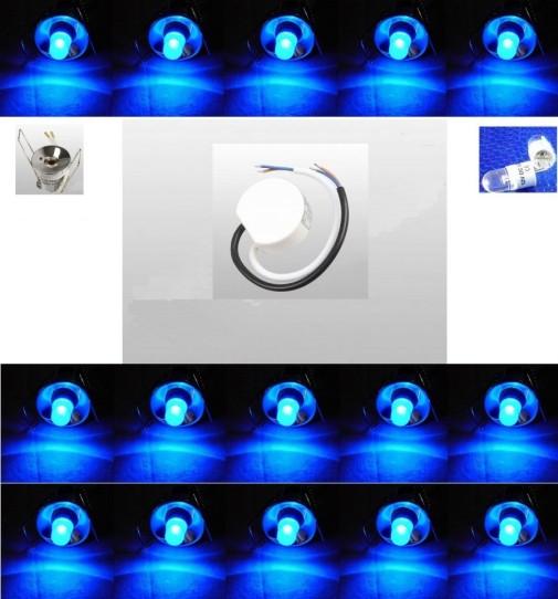 led sternenhimmel 15er set blau trafo led led lampen und beleuchtung. Black Bedroom Furniture Sets. Home Design Ideas