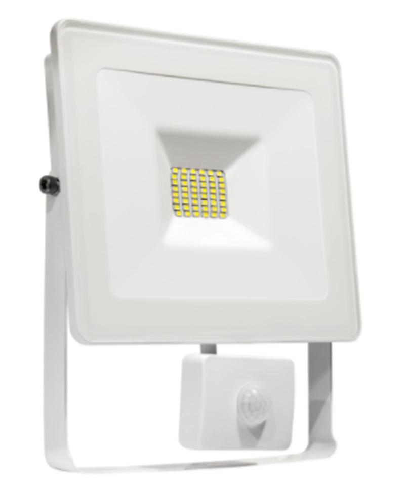 led strahler fluter ip65 30 watt kaltwei bew meld leuchten und lampen au enleuchten. Black Bedroom Furniture Sets. Home Design Ideas