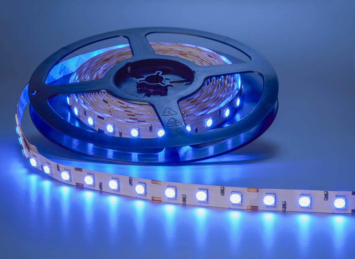 led streifen 5m 300x 5050 smd leds blau ip63 streifen led lampen und beleuchtung. Black Bedroom Furniture Sets. Home Design Ideas