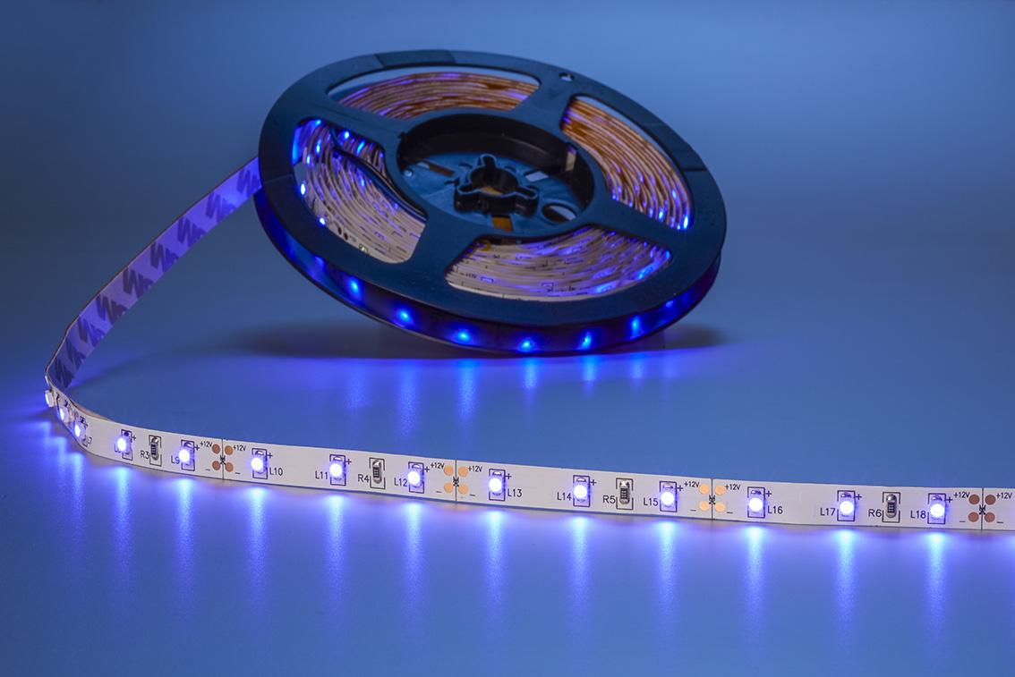led streifen 1m 60x 3528 smd leds blau ip63 streifen led lampen und beleuchtung. Black Bedroom Furniture Sets. Home Design Ideas