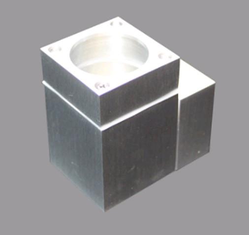 led wandleuchte au en alu eckig f r sockel gu10 led lm aluminium leuchte. Black Bedroom Furniture Sets. Home Design Ideas