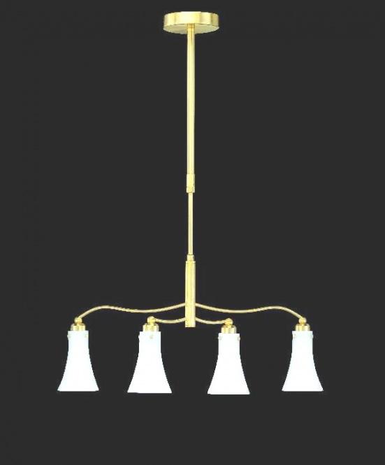 pendelleuchte farbe messing inkl 4x lampen 7 watt auf. Black Bedroom Furniture Sets. Home Design Ideas