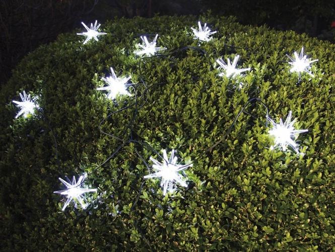 solar led lichterkette 10 flammig mit acrylfiguren leuchten und lampen au enleuchten lichted. Black Bedroom Furniture Sets. Home Design Ideas