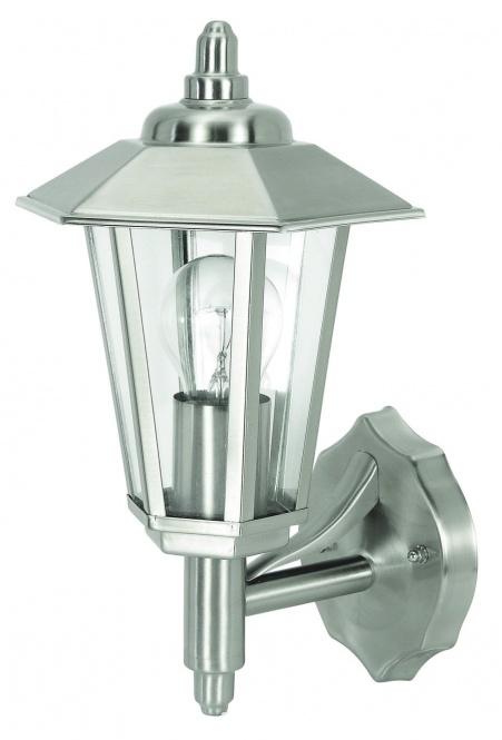 trier edelstahl au en wandleuchte leuchten und lampen au enleuchten. Black Bedroom Furniture Sets. Home Design Ideas