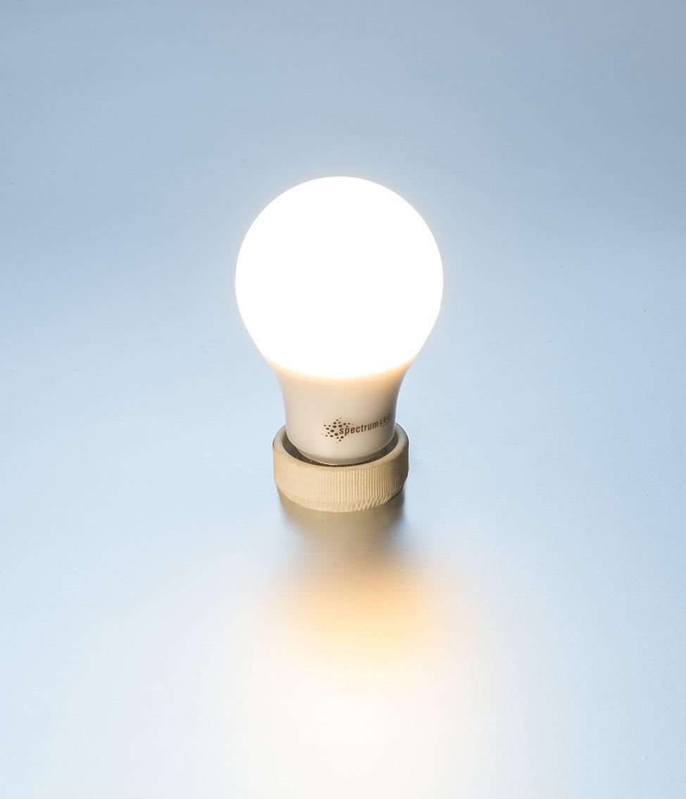 led lampe 500 lumen 7 watt warmwei e27 40 watt gl hbirne einzeln e27 led. Black Bedroom Furniture Sets. Home Design Ideas