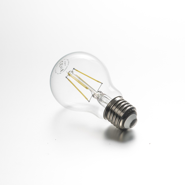 led gl hlampe fadenlampe 6 w klar e27 640 lumen kaltwei led lampe. Black Bedroom Furniture Sets. Home Design Ideas