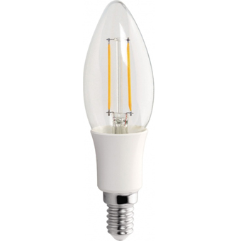 LED Lampe Kerzenform