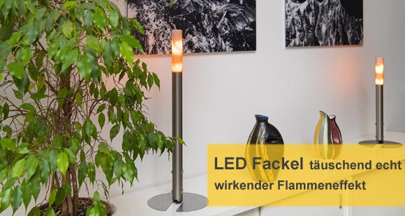 LED Fackel - wie eine echte Flamme